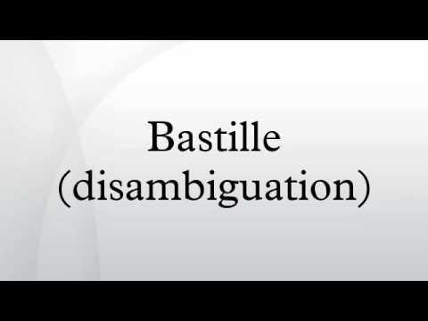 Bastille (disambiguation)