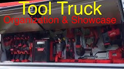 Electrician's Amazing Tool Truck & Organization | Milwaukee Tools Collection
