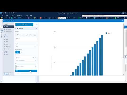 Alteryx Reporting 1 - Interactive Chart