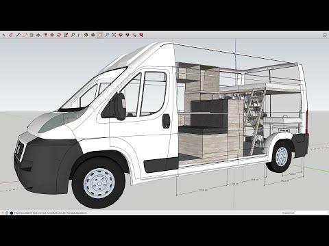 Самодельный автодом. Переделка фургона Ситроен Джампер в дом на колесах своими руками. Часть 1.