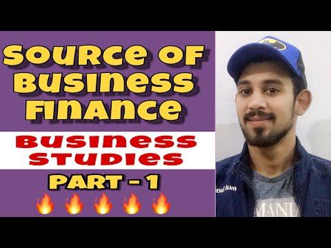 Source of business finance   Class 11   business studies.