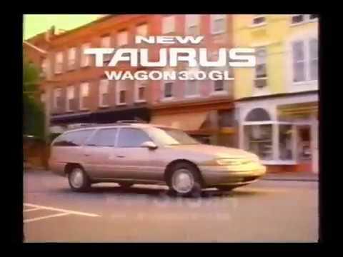 1993 Ford Taurus Spot Ad フォード トーラス CM Japan