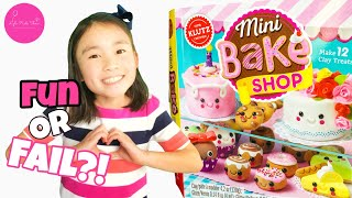 Unboxing/Review of Mini Bake Shop (Clay Kit) by Klutz