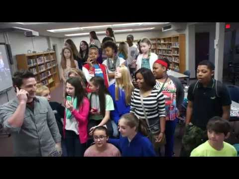 Sterlington Middle School's Reaction to Winning the Contest