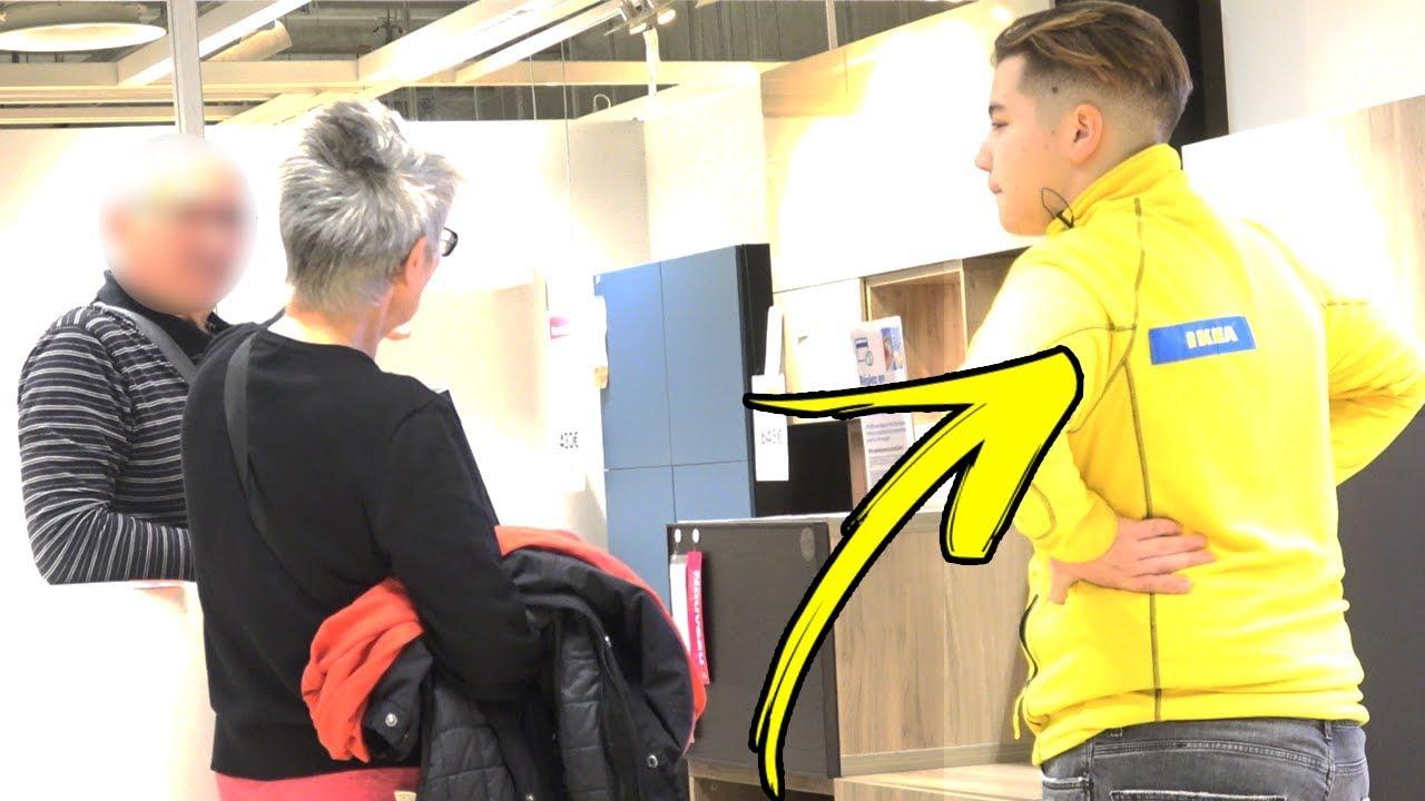 SE FAIRE PASSER POUR UN EMPLOYER CHEZ IKEA