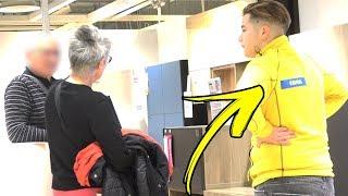 SE FAIRE PASSER POUR UN EMPLOYER CHEZ IKEA thumbnail