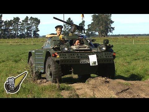 Military Vehicle: Riding In A Ferret Scout Car