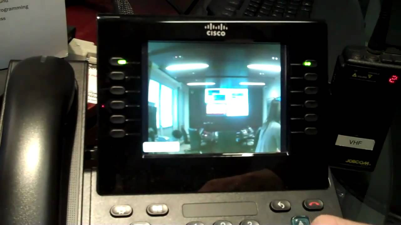Cisco Ip Phone Amp Ip Door Intercom Live Demonstration Youtube