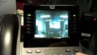 Cisco IP phone & IP door intercom live demonstration