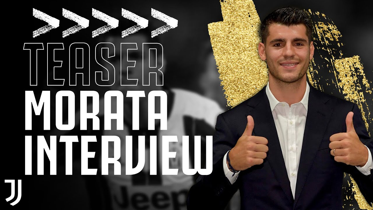 "📹 Álvaro Morata Exclusive Interview | ""I will always be ready for Juventus"" | TEASER"