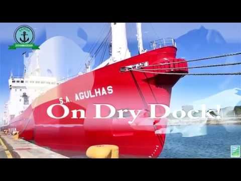 SA Agulhas drying docking 2018