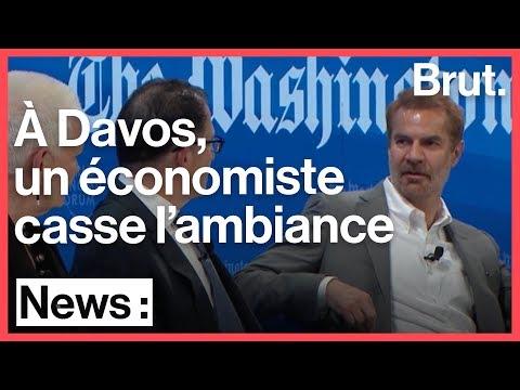 Taxe à 70% : quand un économiste casse l\'ambiance à Davos