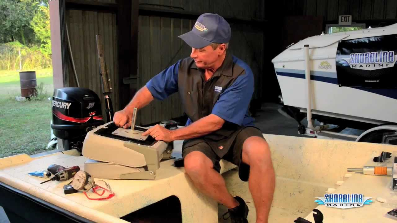 Fishing Chair Clamps Folding Jason Momoa How To Install A Boat Seat Youtube