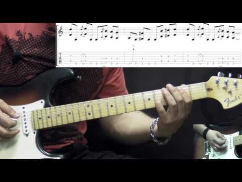 Jimi Hendrix - Ezy Ryder - Rock Guitar Lesson (w/Tabs)