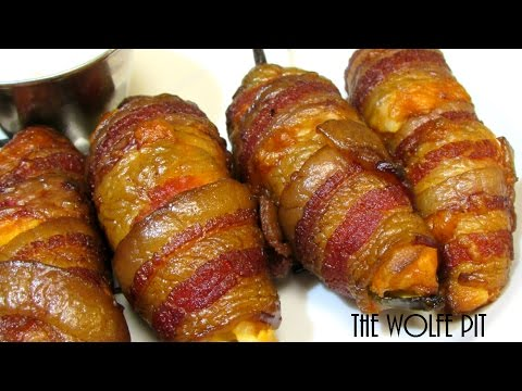 Bacon Mac & Cheese Jalapeño Poppers Recipe - How To Make Jalapeño Poppers - The Wolfe Pit