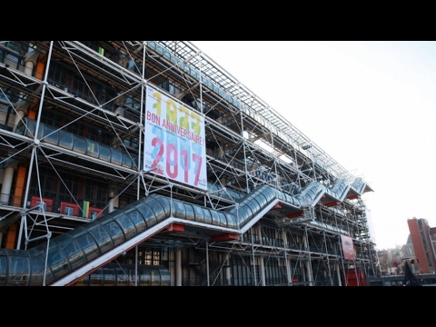 Paris's Pompidou Centre: 40 years at the cutting edge of mod