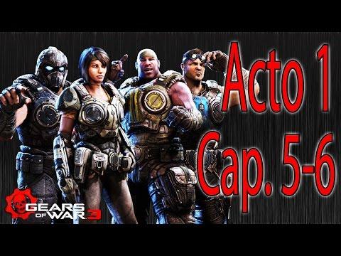 Gears Of War 3 | Walkthrough Guía | Acto 1 | Capítulos 5 y 6 | Elevada |