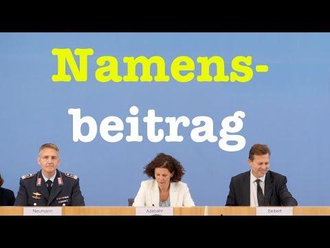 22. August 2018 - Bundespressekonferenz - RegPK