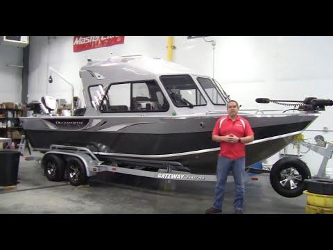 Custom Ordered 2019 Duckworth 235 Pacific Navigator Hard Top