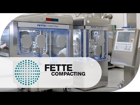 1090i WiP Tablet Press in Operation   Fette Compacting