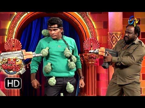 Chammak Chandra Performance | Extra Jabardasth | 24th August 2018 | ETV Telugu