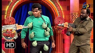 Chammak Chandra Performance   Extra Jabardasth   24th August 2018   ETV Telugu