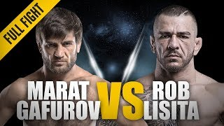 "ONE: Full Fight | Marat Gafurov vs. Rob Lisita | ""Cobra"" Gafurov wins by submission 