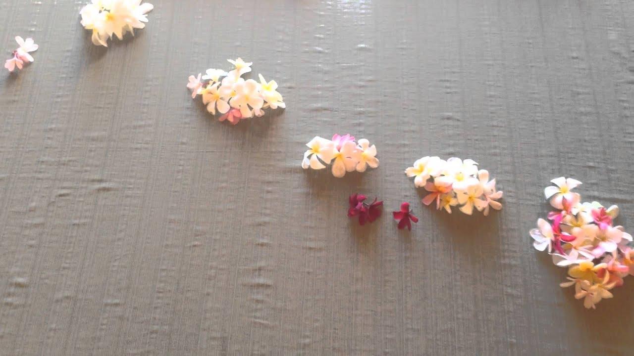Plumeria flowers in the shape of the hawaiian islands youtube plumeria flowers in the shape of the hawaiian islands izmirmasajfo