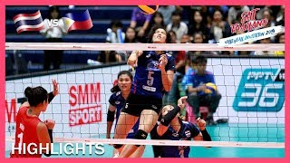 Thailand vs Philippines | Highlights | Day 2 | ASEAN Grand Prix 2019