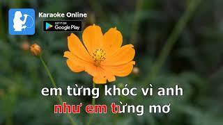 Để Cho Em Khóc - Minh Tuyết | KARAOKE ONLINE |