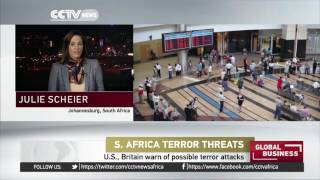 South Africa: British & American gov'ts warn of possible attacks in shopping areas