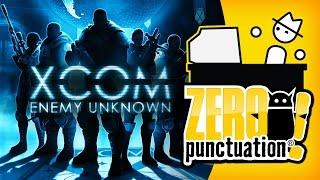 XCOM: ENEMY UNKNOWN (Zero Punctuation) (Video Game Video Review)