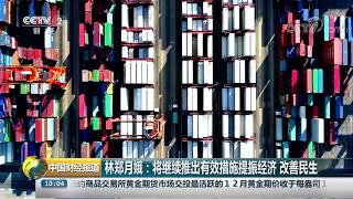[中国财经报道]林郑月娥:将继续推出有效措施提振经济 改善民生| CCTV财经