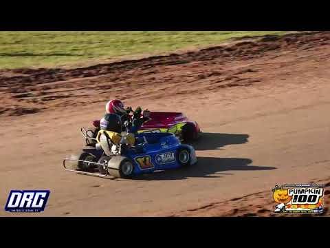 Rice Lake Speedway Kart Club 10/19/19 Pumpkin 100