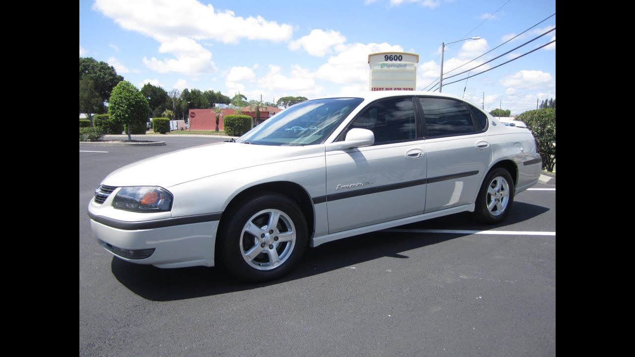 sold 2003 chevrolet impala ls meticulous motors inc florida for sale youtube. Cars Review. Best American Auto & Cars Review
