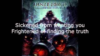 Disturbed - Sickened Lyrics (HD)