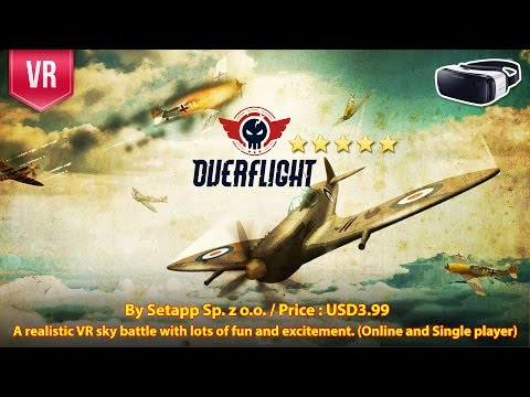 Overflight Gear VR - A realistic VR multiplayer flight simulator (Online and Single player)