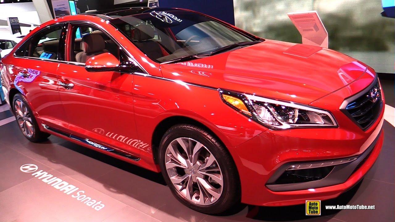 2017 Hyundai Sonata Limited 2.0 T >> 2017 Hyundai Sonata Limited 2 0t Exterior And Interior Walkaround 2017 Detroit Auto Show