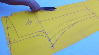 असली Ladies Trouser Pant Cutting (Easy way) in Hindi - Ladies Pant    Pant Cutting at Home