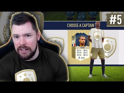 BEST DRAFT EVER!! - #FIFA18 DRAFT TO GLORY #05