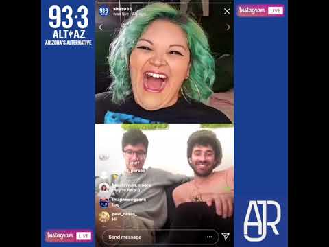 Instagram Live with AJR and Mo!