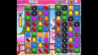 How to beat Candy Crush Saga Level 375 - 1 Stars - No Boosters - 233,640pts