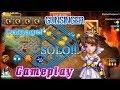 Gunslinger Skill12 Solo Dungeon Insane Damage! Castle Clash