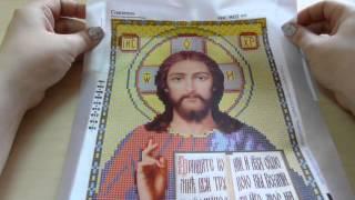 вышивка бисером икона Св.Блаженная Матрона и обзор нового процесса