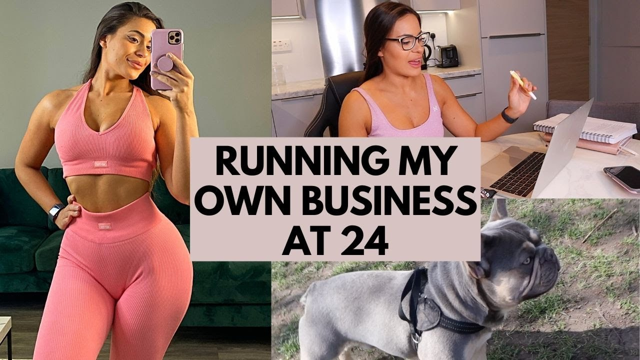 Spend the day with me   Running my own business , What I eat in a day, My morning routine