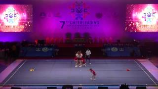 "7th World Cheerleading Championships 2013, Thailand, Day 2, Open category""TEDDY BEARS 1"""