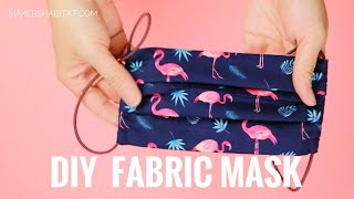 DIY Covid-19 Fabric Mask (with Filter Pocket) Sewing Tutorial
