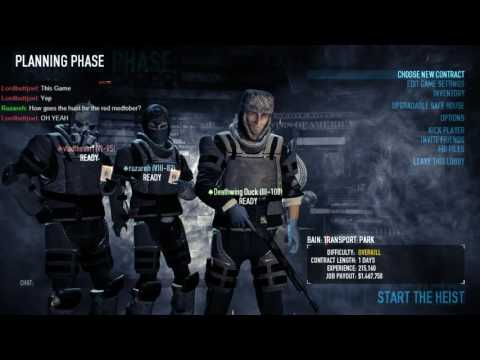 Payday 2 with Friends [10-12-16] - Transport Heists Part 2 (Overkill)