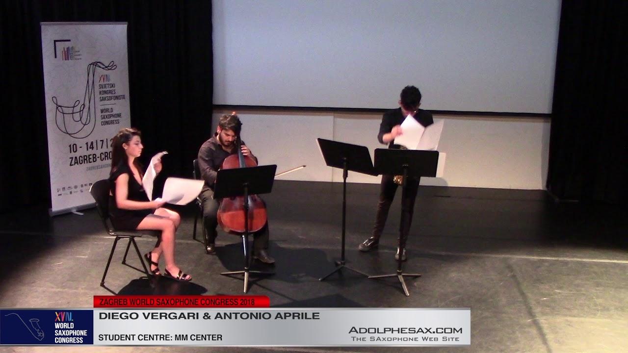 Invenzione capricciosa by Stefano Pelagatti    Diego Vergari & Antonio Aprile   XVIII World Sax Cong