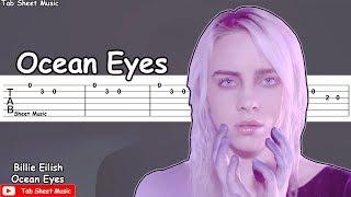 Billie Eilish - Ocean Eyes Guitar Tutorial